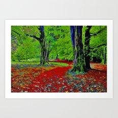 Fantasy Woodland Art Print