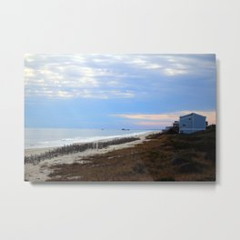 The Point At Oak Island Metal Print
