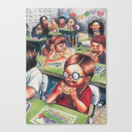 Recess Canvas Print