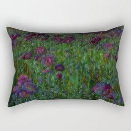 Poppy Meadow Rectangular Pillow