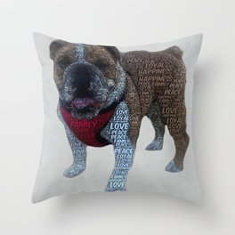 Bully Squad - Chilli & Shirley Throw Pillow