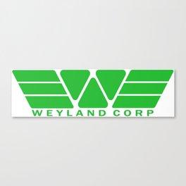 Weyland Corp - Green Canvas Print