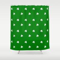 irish Shower Curtains featuring Irish Spring by McGrathDesigns