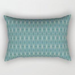 hopscotch-hex navajo Rectangular Pillow