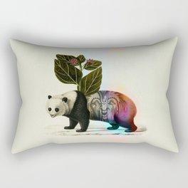 Auricular panda Rectangular Pillow