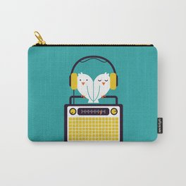 Radio Mode Love Carry-All Pouch