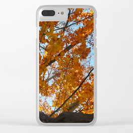 Fiery Leaves 2012 Clear iPhone Case
