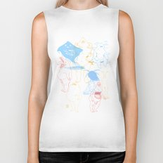 Gods of the Planets Biker Tank