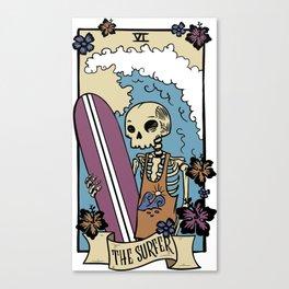 The Surfer Canvas Print