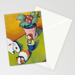 Little Walter's Toys by August Macke, 1912 Stationery Cards