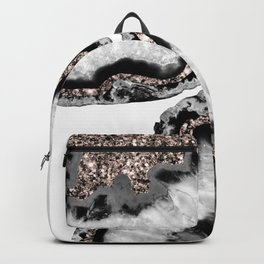 Yin Yang Agate Glitter Glam #2 #gem #decor #art #society6 Backpack