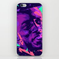 wesley bird iPhone & iPod Skins featuring Wesley snipes // Bad actors v2 by mergedvisible
