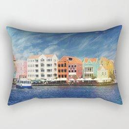 Willemstad, Curaçao Rectangular Pillow