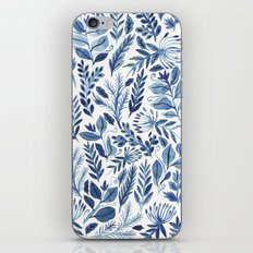 indigo scatter iPhone & iPod Skin