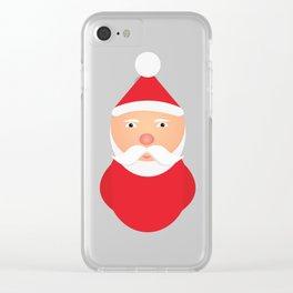Santa Claus - Chrismtas Clear iPhone Case