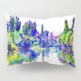 Claude Monet - Morning on the Seine, near Vetheuil 1878 Pillow Sham