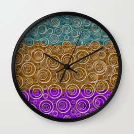 The Bohemian,Starry Night Wall Clock