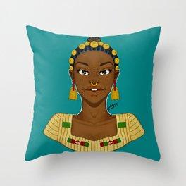 Fula Throw Pillow
