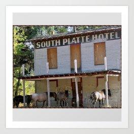 South Platte Hotel Art Print