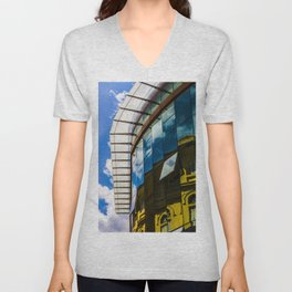 Modern and classic architecture Unisex V-Neck