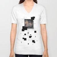 serenity V-neck T-shirts featuring Serenity by Andrew Sliwinski