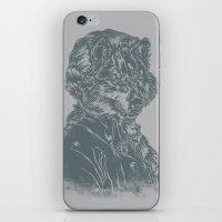 mozart iPhone & iPod Skins featuring Wolf Amadeus Mozart by Joshua Kemble