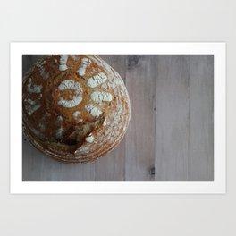 Sourdough Bread Boule III Art Print
