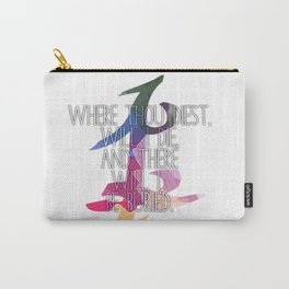Parabatai Quote Carry-All Pouch