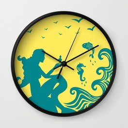 The Little Mermaid Wall Clock
