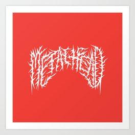 Metalhead Art Print