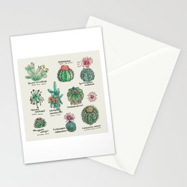 Cactus Dictionaly page1 Stationery Cards