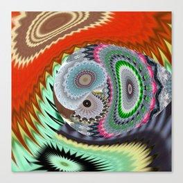 Some Superabstractique 2 Canvas Print