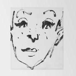 Sketch Throw Blanket
