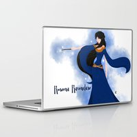 ravenclaw Laptop & iPad Skins featuring Rowena Ravenclaw by Hailey Del Rio