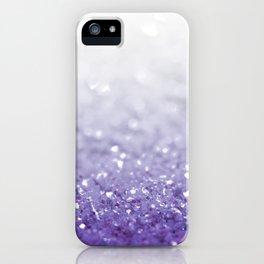 MERMAIDIANS PURPLE GLITTER iPhone Case
