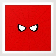 Spider Look Art Print