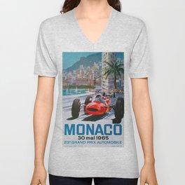 Monaco 1965 Unisex V-Neck