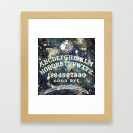 Ouija Board (Celestial Version) Framed Art Print