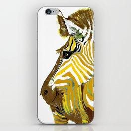 ZEBRA GOLDEN Animal Print iPhone Skin