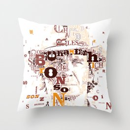 Charles Bronson Once upon a time in the west Throw Pillow