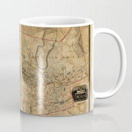 Map Of Dundas 1851 Coffee Mug