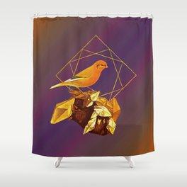 Topaz Canary Shower Curtain
