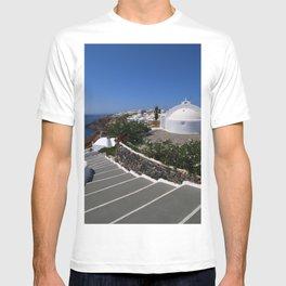 A Santorini Church T-shirt