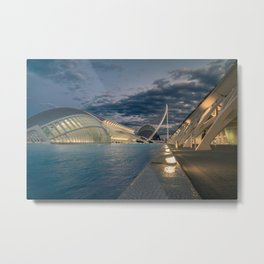 City of Arts and Sciences Metal Print