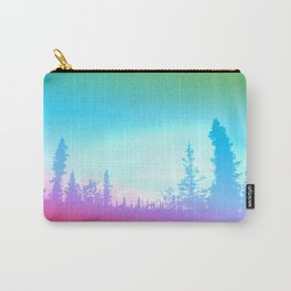 Bright Colorful Forest Carry-All Pouch