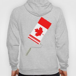 Paint Roller Canada Hoody