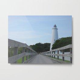 Ocracoke Light Metal Print