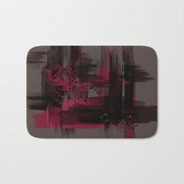 """""""Abstract Porstroke"""" Bath Mat"""
