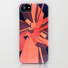 Vintage Orange Rectangles iPhone (5, 5s) Slim Case