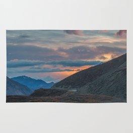 Polychrome Pass Denali National Park Mt McKinley Mt Denali Rug